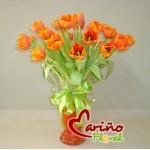 tulips naranjas