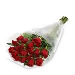 24 rosas en celofan