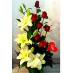 Lilys y rosas